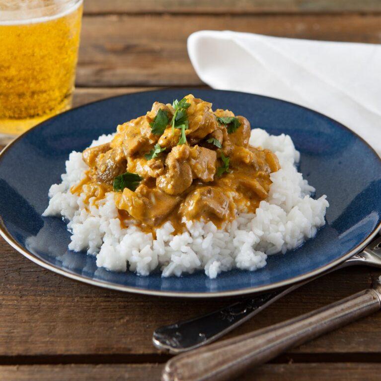 Low sugar curry