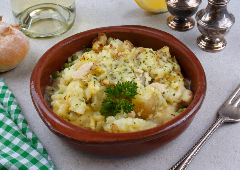 British Food - Classic Fish Pie