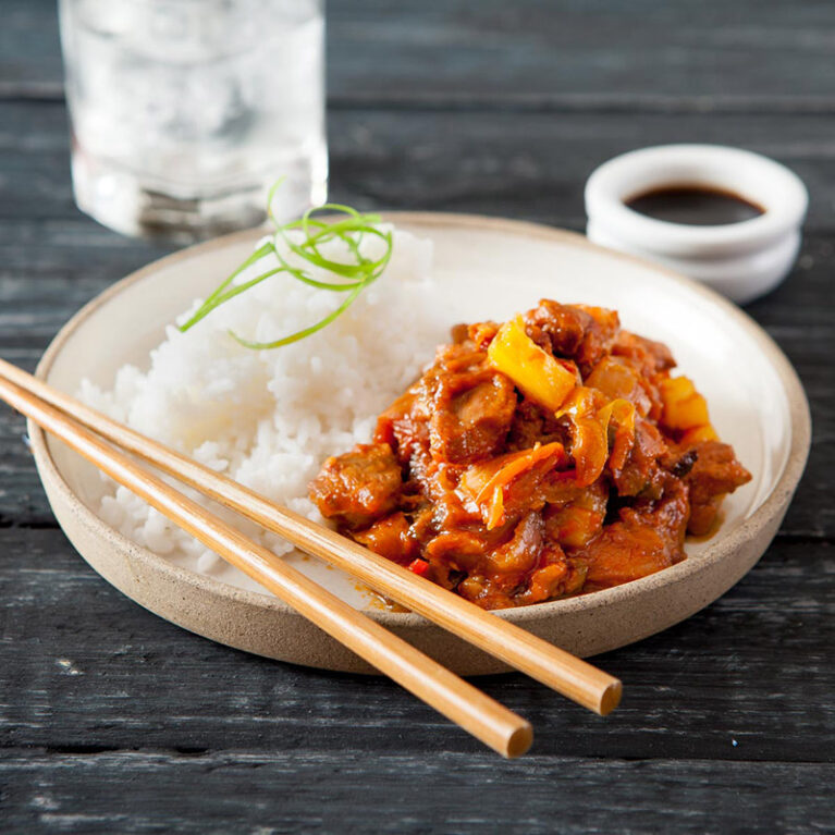 Sweet and Sour Pork Frozen Ready Meal
