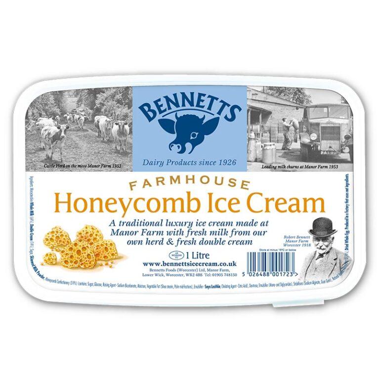 Honeycomb Ice Cream - 1L